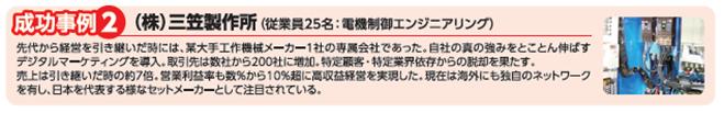(株)三笠製作所様